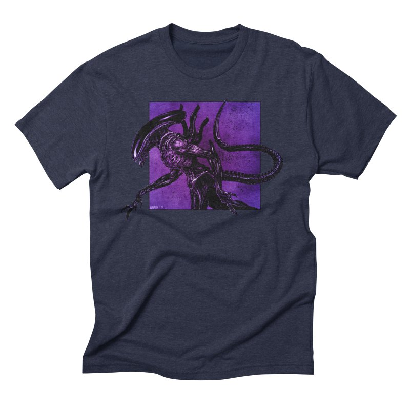 Xenomorph Men's Triblend T-Shirt by Ambrose H.H.'s Artist Shop