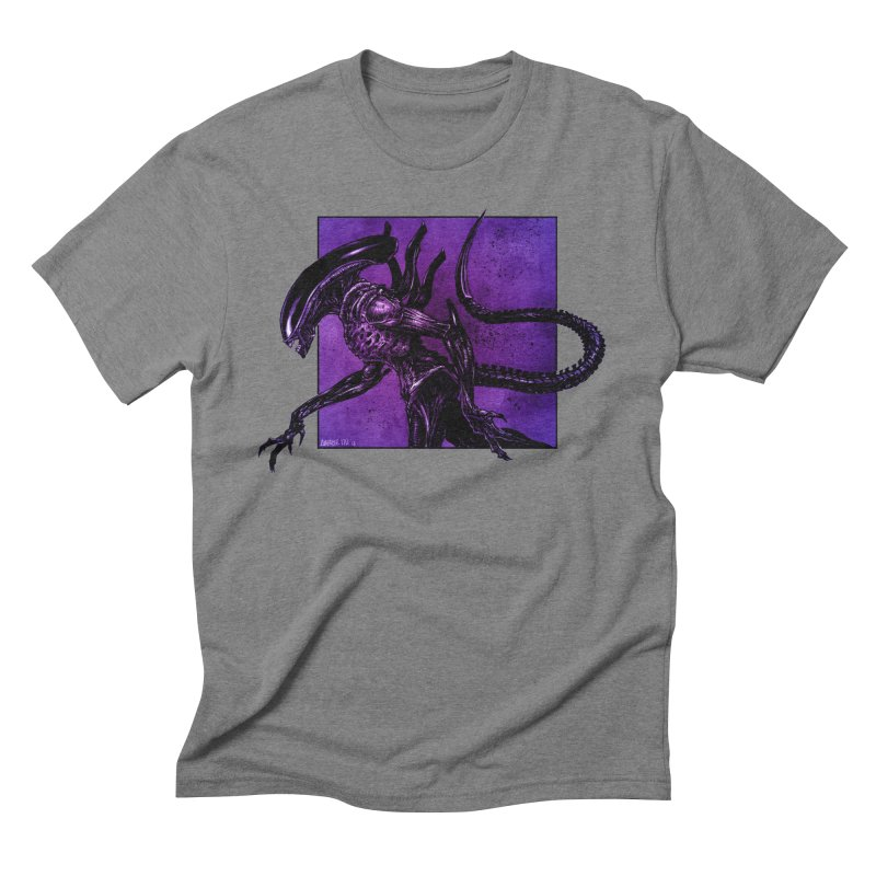 Xenomorph Men's Triblend T-Shirt by Ambrose H.H.'s Artist Shop