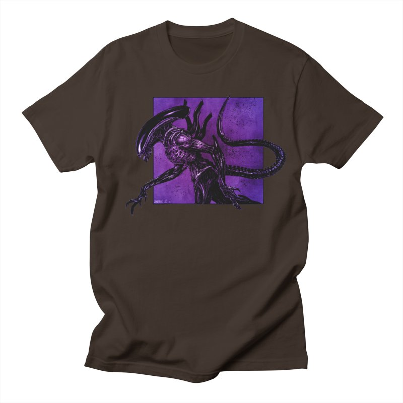 Xenomorph Men's Regular T-Shirt by Ambrose H.H.'s Artist Shop