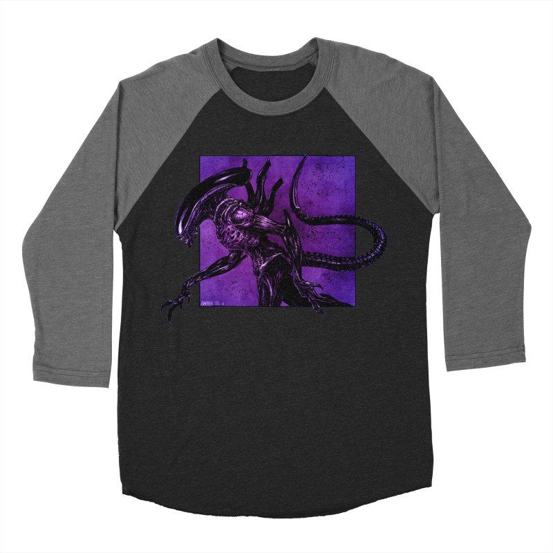 Xenomorph Women's Baseball Triblend Longsleeve T-Shirt by Ambrose H.H.'s Artist Shop
