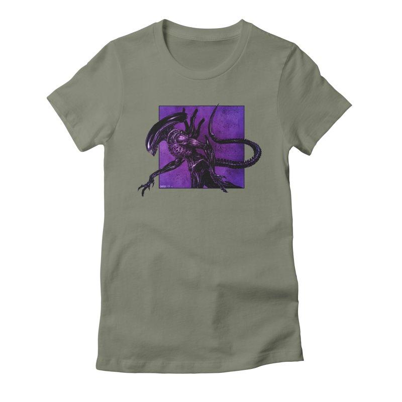 Xenomorph Women's T-Shirt by Ambrose H.H.'s Artist Shop