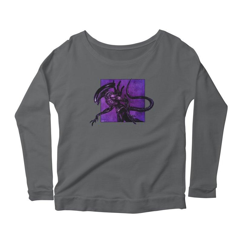 Xenomorph Women's Longsleeve T-Shirt by Ambrose H.H.'s Artist Shop
