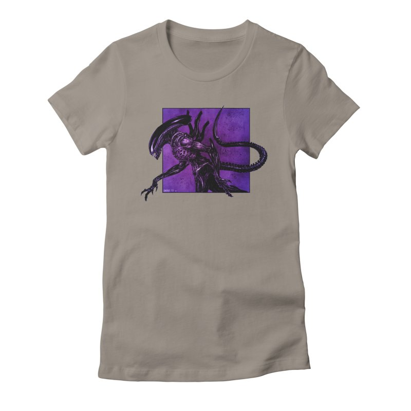 Xenomorph Women's T-Shirt by Ambrose H.H.'s Artist Shop