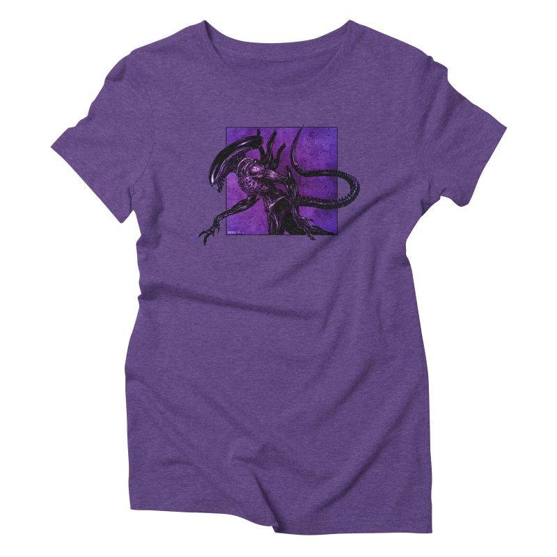 Xenomorph Women's Triblend T-Shirt by Ambrose H.H.'s Artist Shop