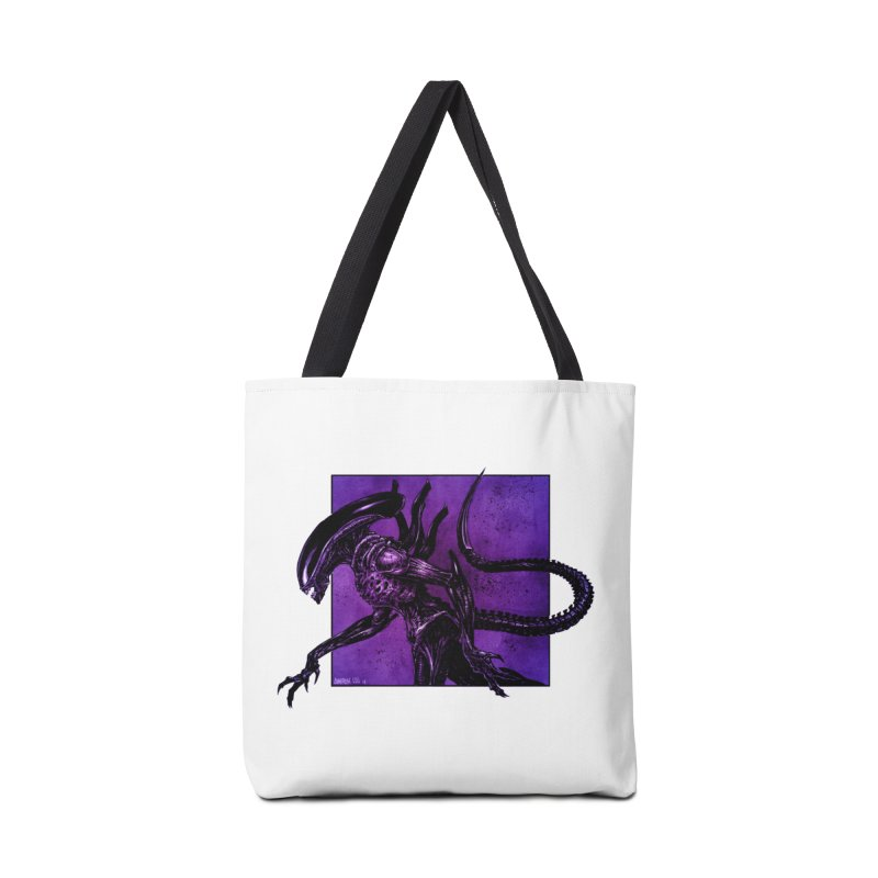Xenomorph Accessories Bag by Ambrose H.H.'s Artist Shop