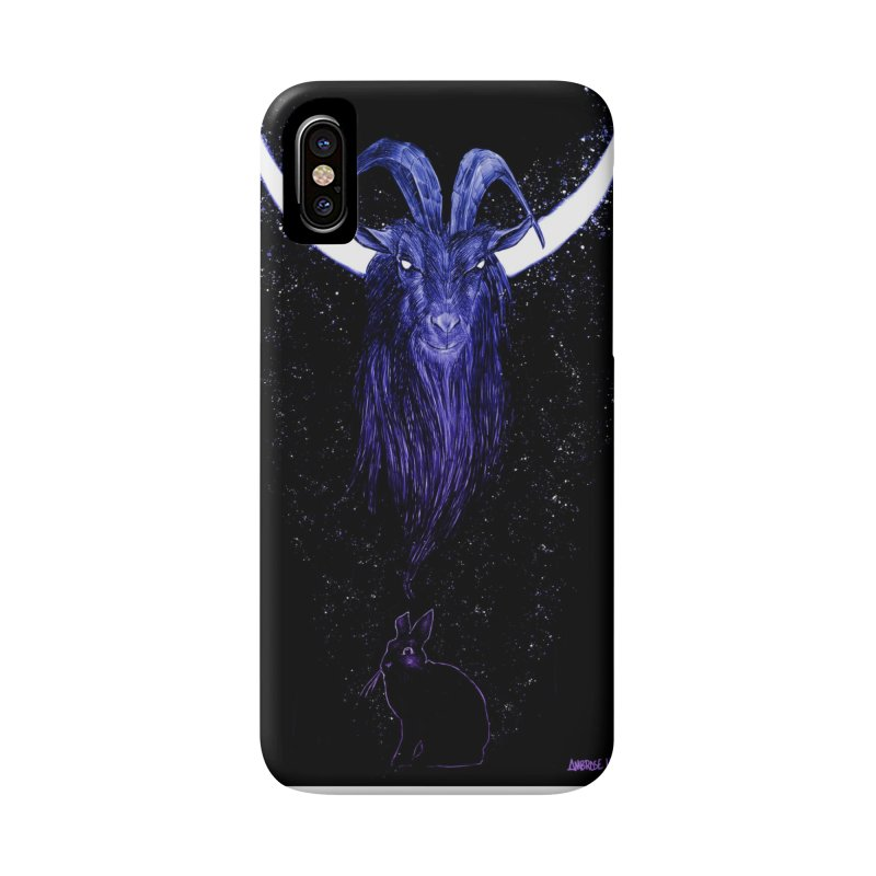 Black Phillip Accessories Phone Case by Ambrose H.H.'s Artist Shop