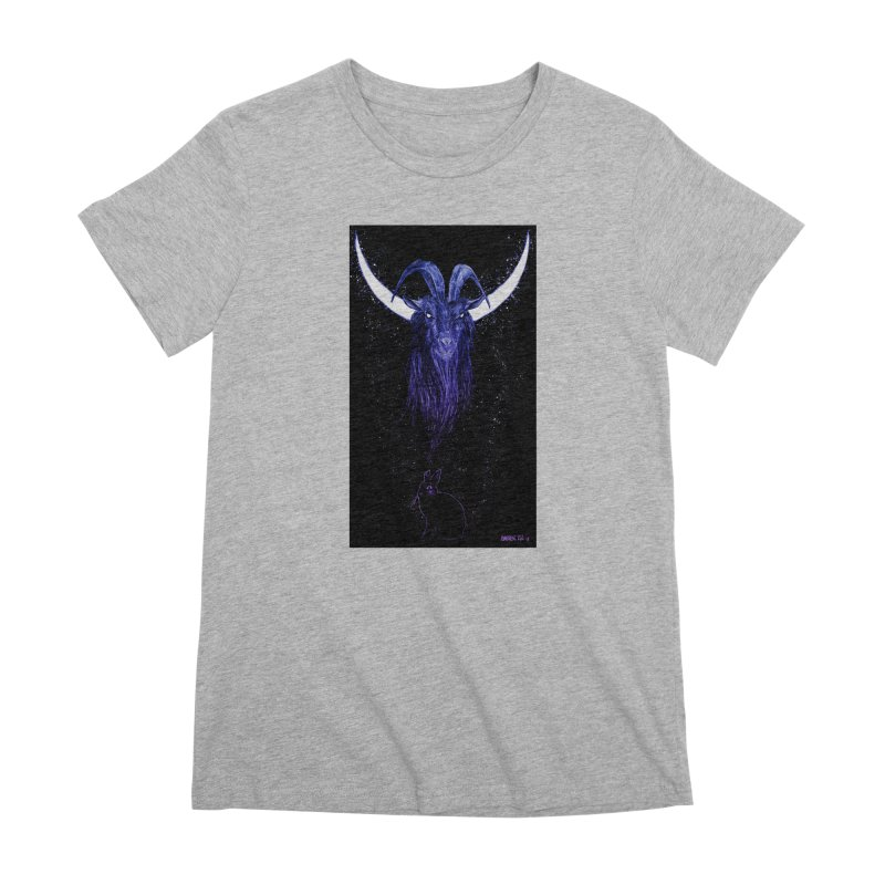 Black Phillip Women's Premium T-Shirt by Ambrose H.H.'s Artist Shop