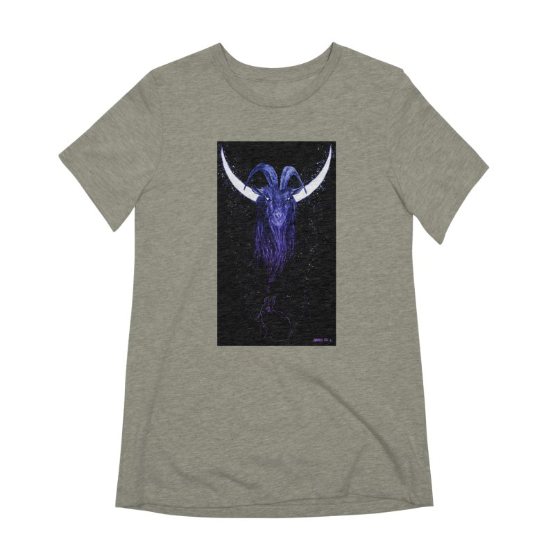 Black Phillip Women's T-Shirt by Ambrose H.H.'s Artist Shop