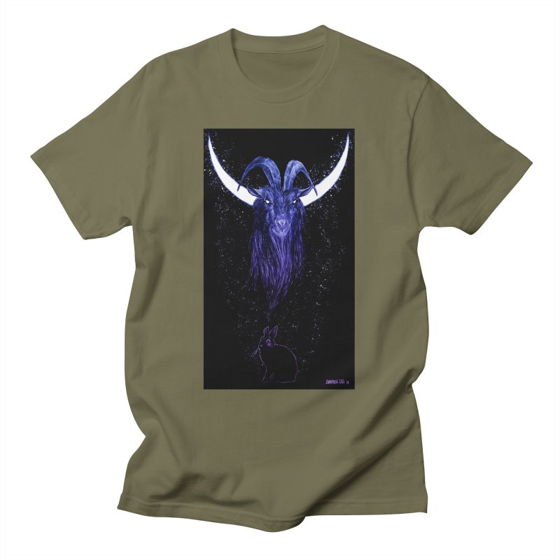 Black Phillip Men's T-Shirt by Ambrose H.H.'s Artist Shop