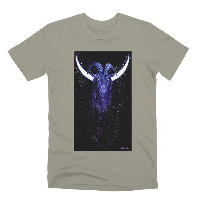 Black Phillip Men's Premium T-Shirt by Ambrose H.H.'s Artist Shop