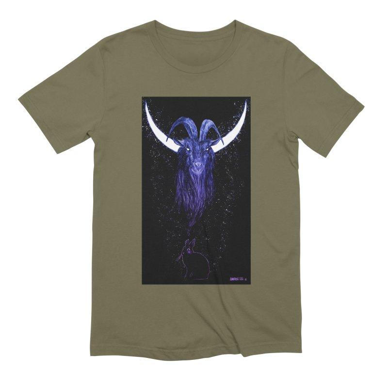 Black Phillip Men's Extra Soft T-Shirt by Ambrose H.H.'s Artist Shop