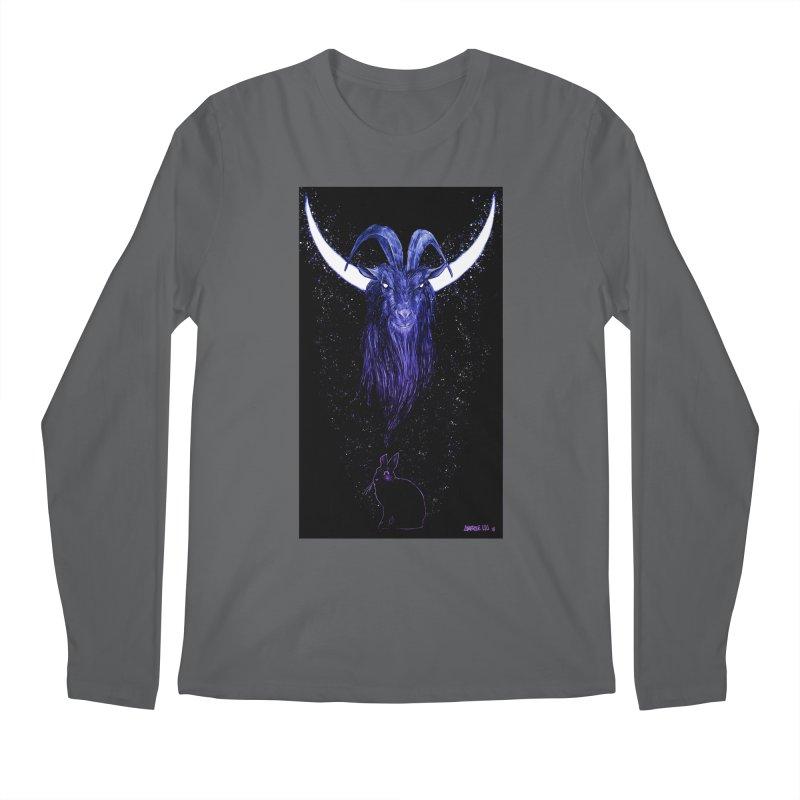 Black Phillip Men's Longsleeve T-Shirt by Ambrose H.H.'s Artist Shop