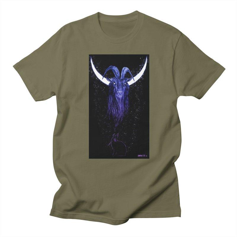 Black Phillip Men's Regular T-Shirt by Ambrose H.H.'s Artist Shop