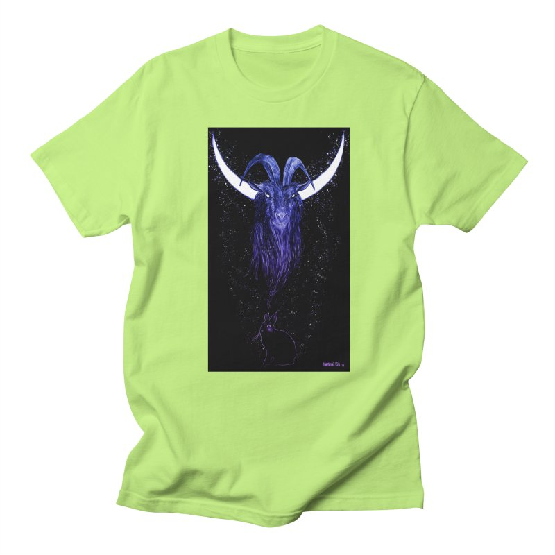 Black Phillip Men's T-Shirt by Ambrose H.H.'s Artist Shop