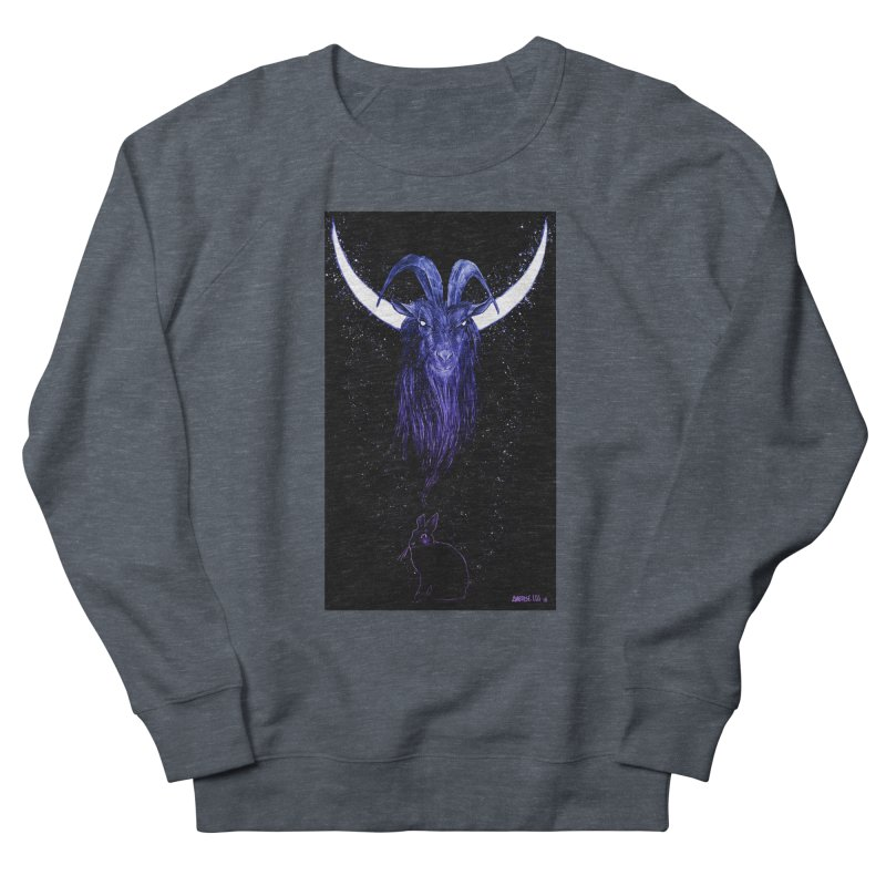 Black Phillip Women's French Terry Sweatshirt by Ambrose H.H.'s Artist Shop