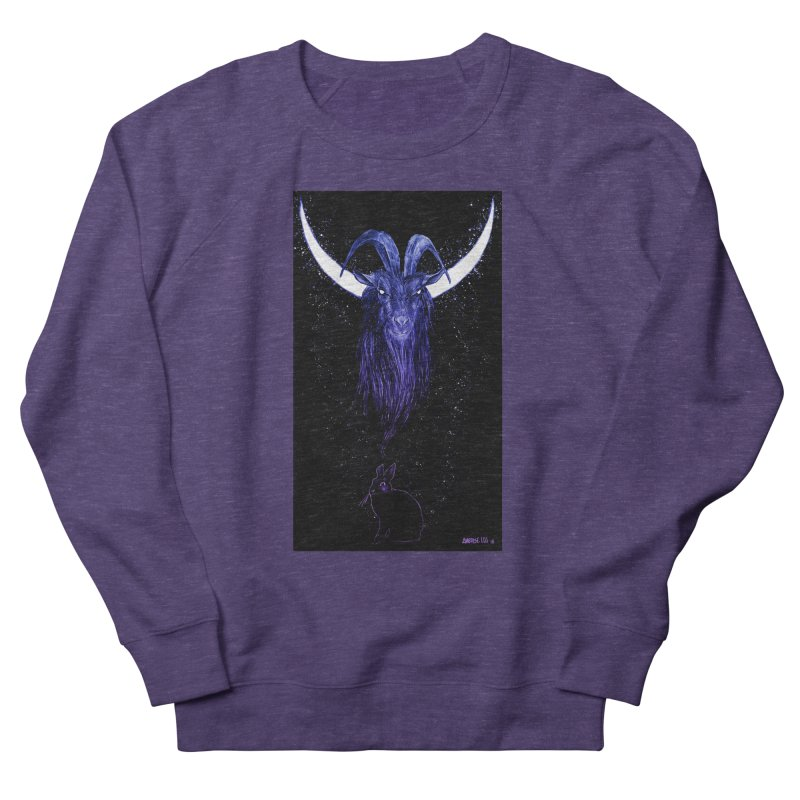 Black Phillip Men's French Terry Sweatshirt by Ambrose H.H.'s Artist Shop