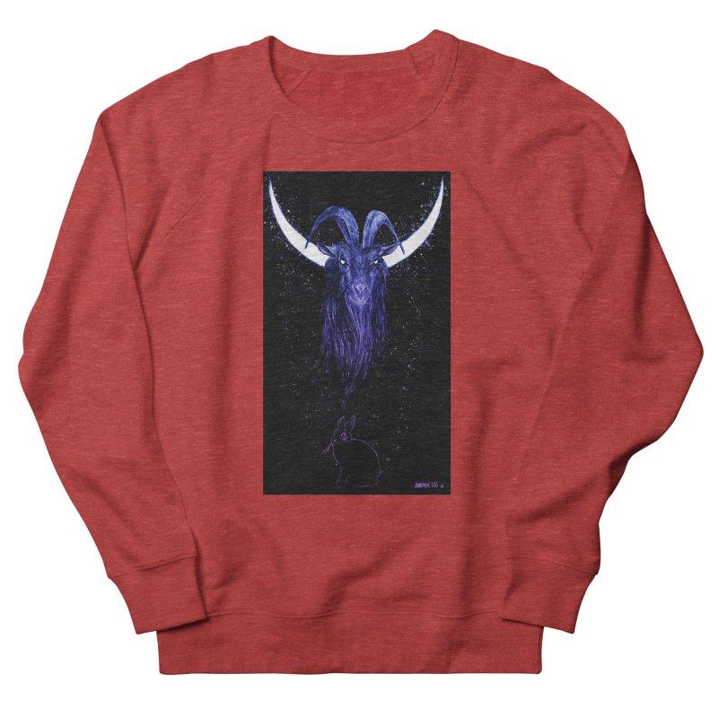 Black Phillip Men's French Terry Sweatshirt by Ambrose H.H.'s Artist Shop