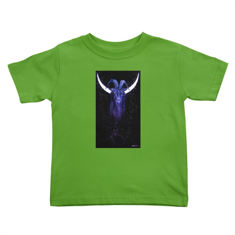 Black Phillip Kids Toddler T-Shirt by Ambrose H.H.'s Artist Shop