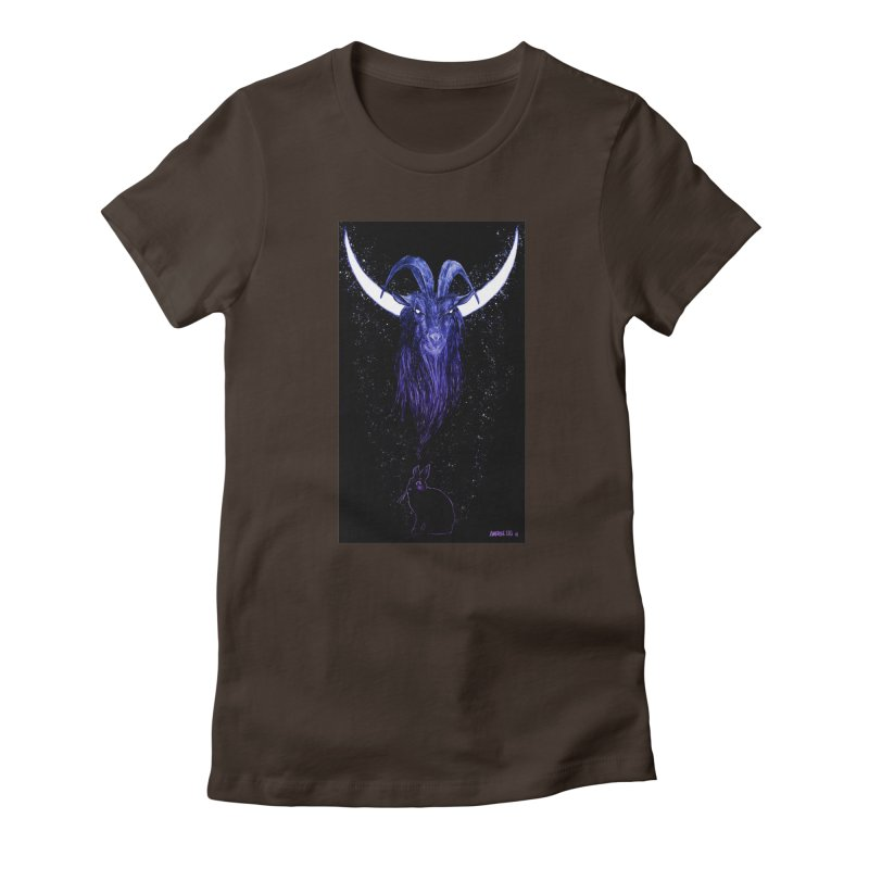 Black Phillip Women's T-Shirt by Ambrose H.H.'s Artist Shop