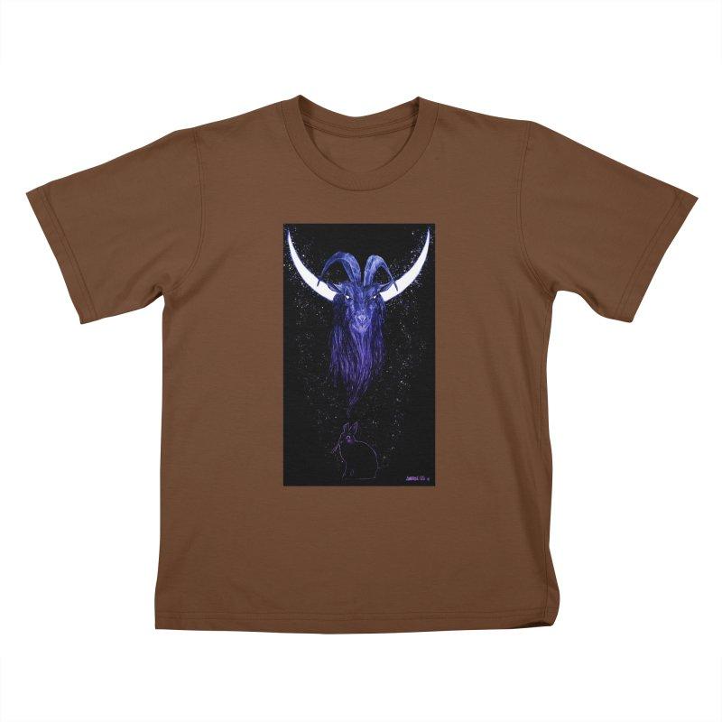 Black Phillip Kids T-Shirt by Ambrose H.H.'s Artist Shop