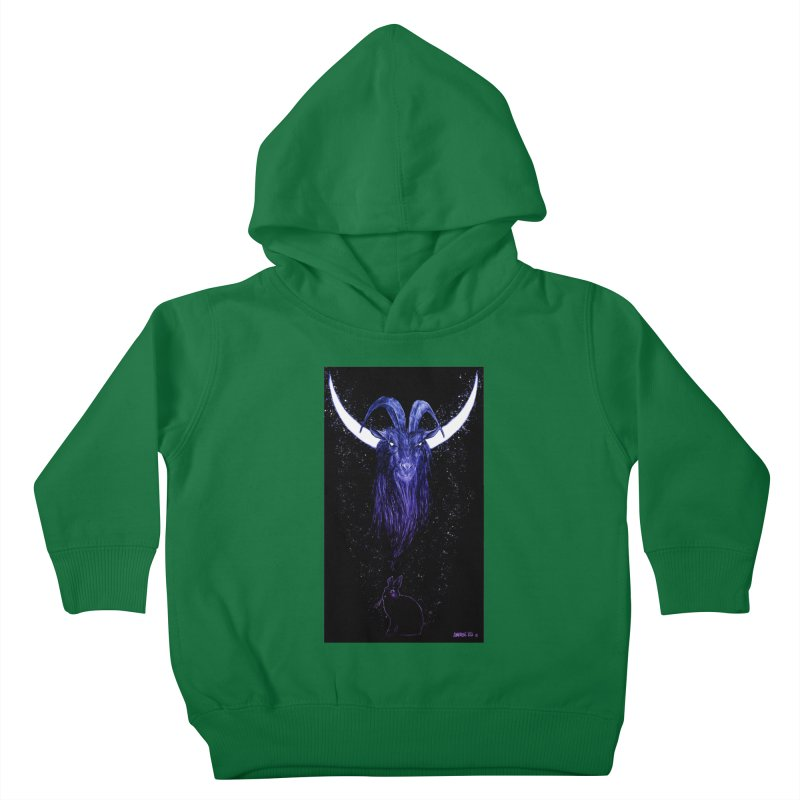 Black Phillip Kids Toddler Pullover Hoody by Ambrose H.H.'s Artist Shop