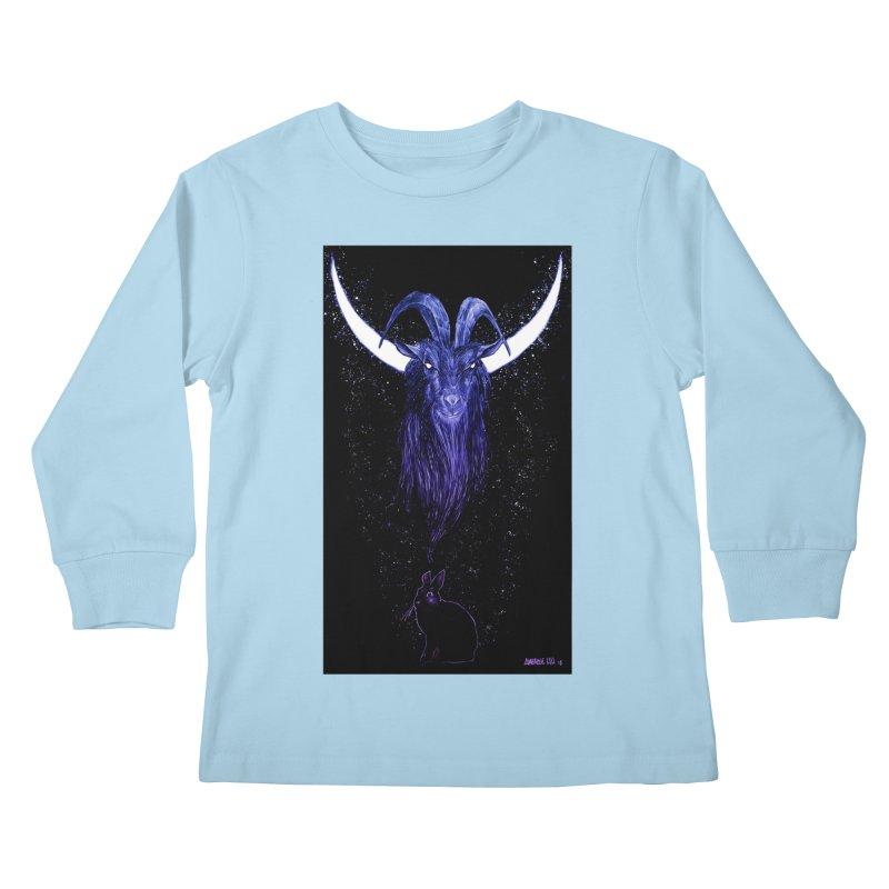 Black Phillip Kids Longsleeve T-Shirt by Ambrose H.H.'s Artist Shop
