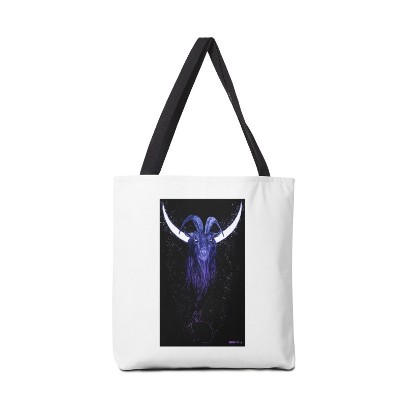 Black Phillip Accessories Bag by Ambrose H.H.'s Artist Shop
