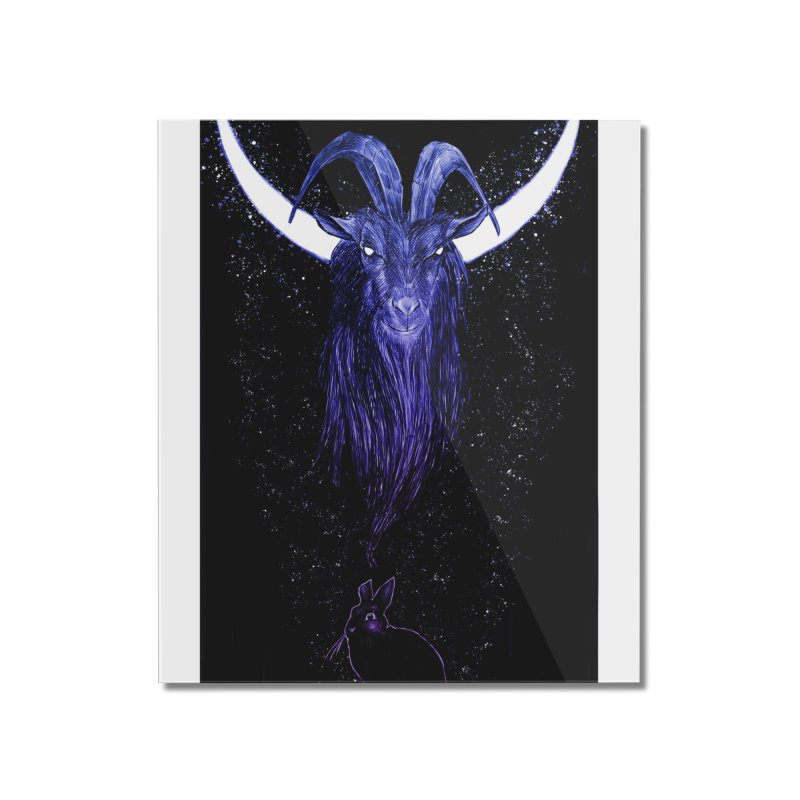 Black Phillip Home Mounted Acrylic Print by Ambrose H.H.'s Artist Shop
