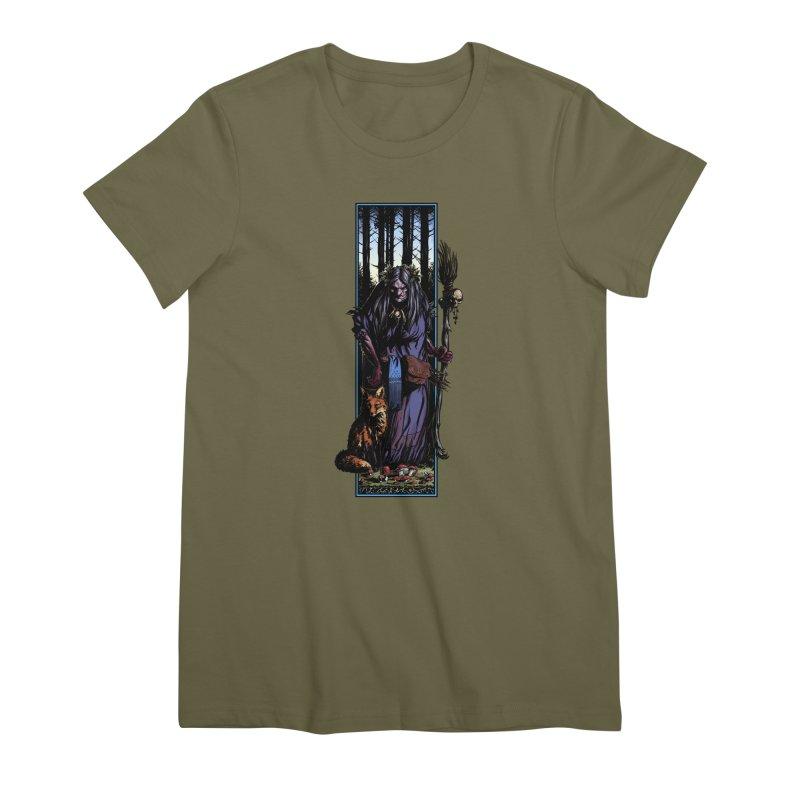 The Watcher Women's T-Shirt by Ambrose H.H.'s Artist Shop
