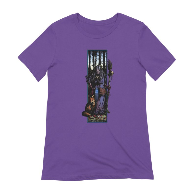 The Watcher Women's Extra Soft T-Shirt by Ambrose H.H.'s Artist Shop
