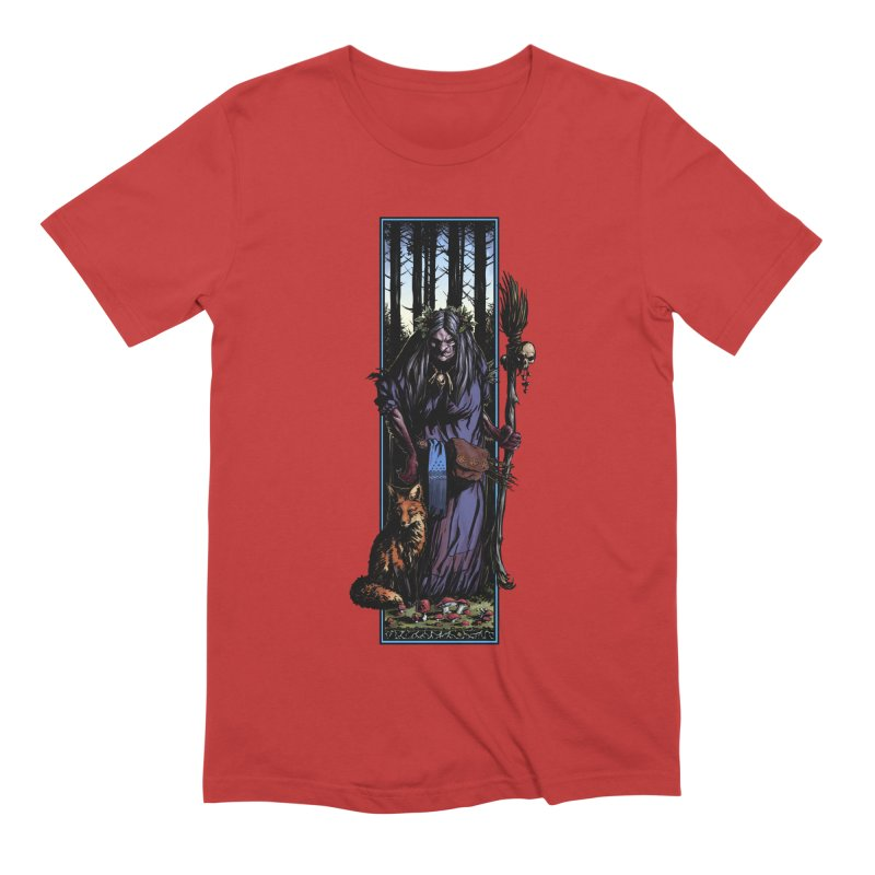 The Watcher Men's Extra Soft T-Shirt by Ambrose H.H.'s Artist Shop