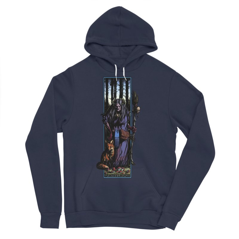 The Watcher Women's Sponge Fleece Pullover Hoody by Ambrose H.H.'s Artist Shop