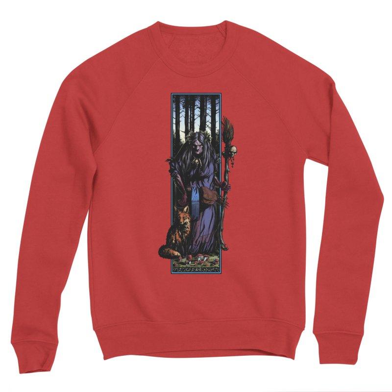 The Watcher Women's Sponge Fleece Sweatshirt by Ambrose H.H.'s Artist Shop