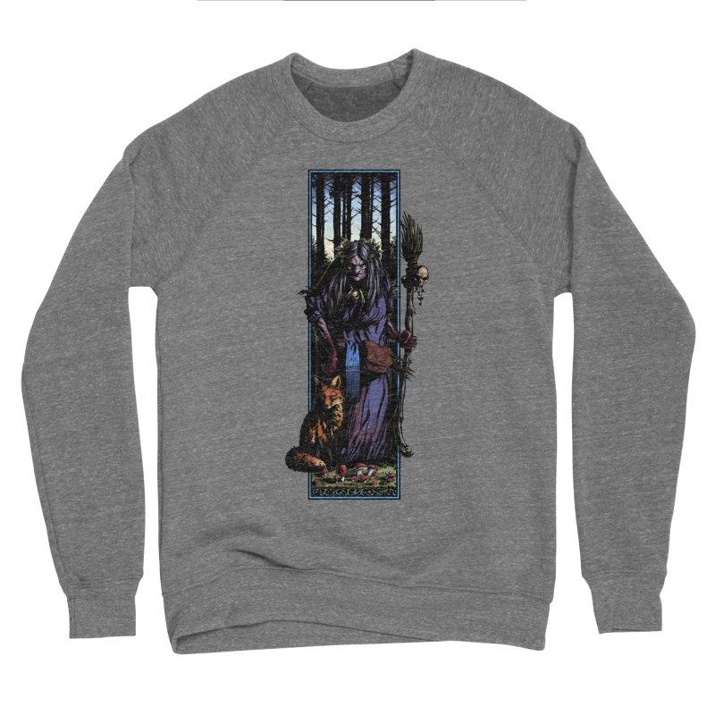 The Watcher Men's Sponge Fleece Sweatshirt by Ambrose H.H.'s Artist Shop