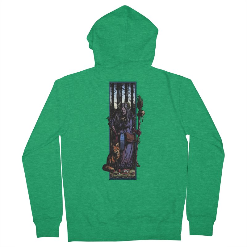 The Watcher Women's Zip-Up Hoody by Ambrose H.H.'s Artist Shop
