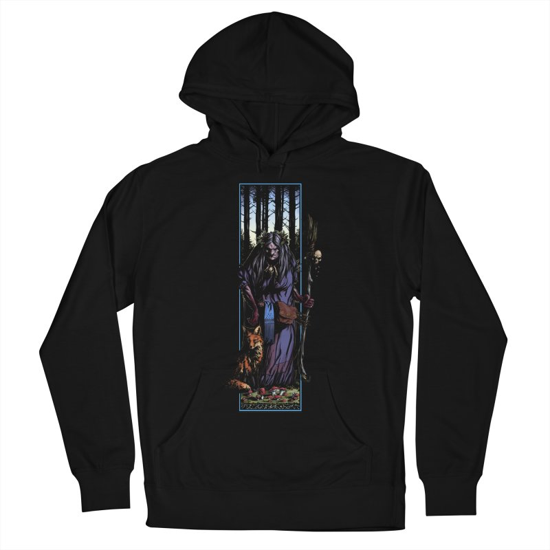 The Watcher Women's French Terry Pullover Hoody by Ambrose H.H.'s Artist Shop