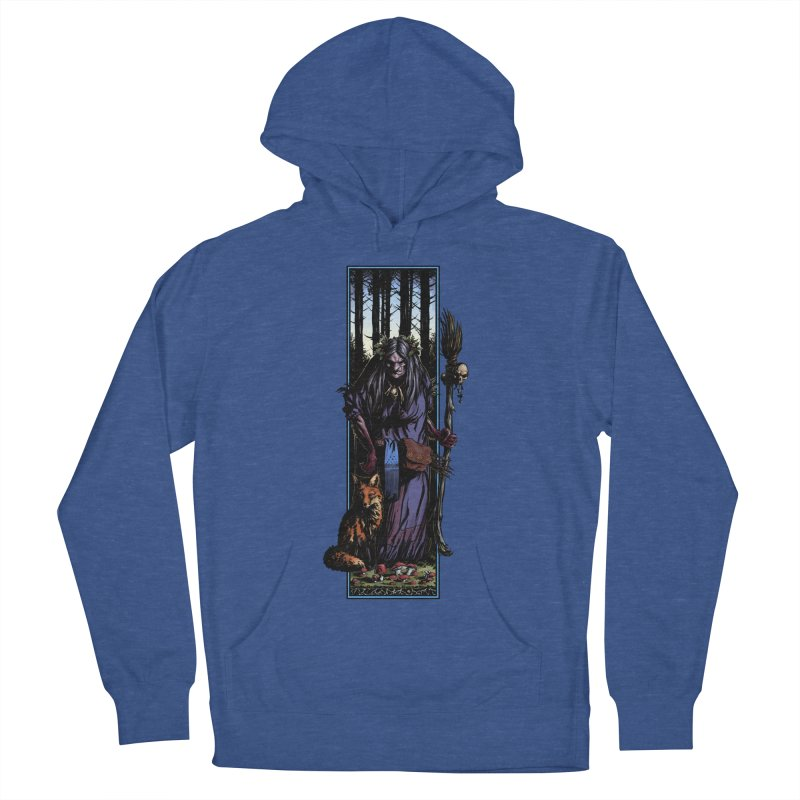 The Watcher Men's French Terry Pullover Hoody by Ambrose H.H.'s Artist Shop
