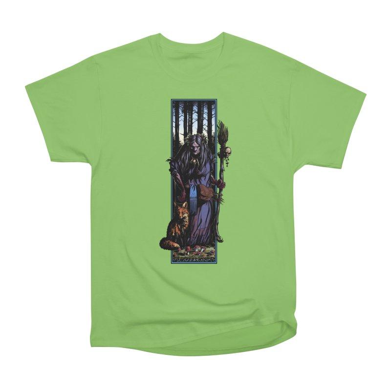 The Watcher Men's Heavyweight T-Shirt by Ambrose H.H.'s Artist Shop