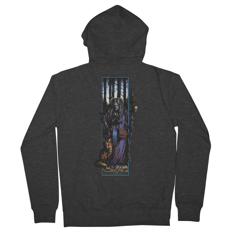 The Watcher Men's Zip-Up Hoody by Ambrose H.H.'s Artist Shop