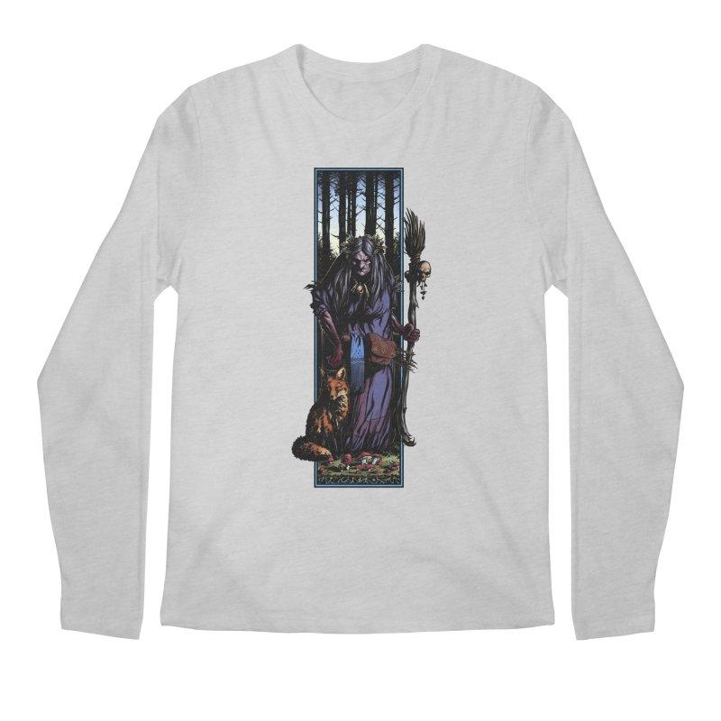 The Watcher Men's Regular Longsleeve T-Shirt by Ambrose H.H.'s Artist Shop
