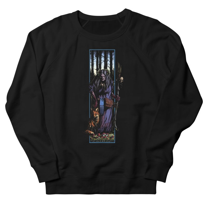The Watcher Men's French Terry Sweatshirt by Ambrose H.H.'s Artist Shop