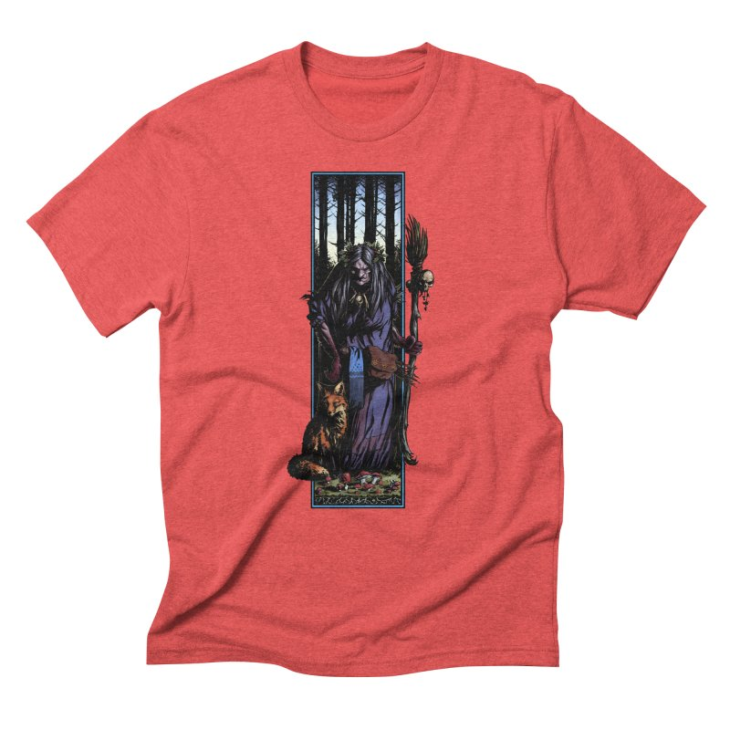 The Watcher Men's Triblend T-Shirt by Ambrose H.H.'s Artist Shop