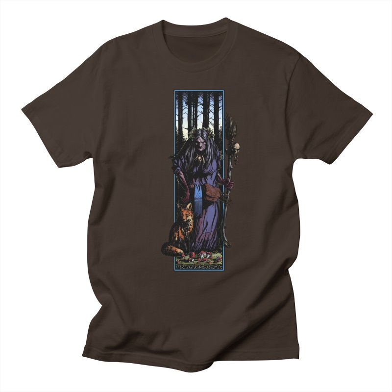 The Watcher Men's Regular T-Shirt by Ambrose H.H.'s Artist Shop