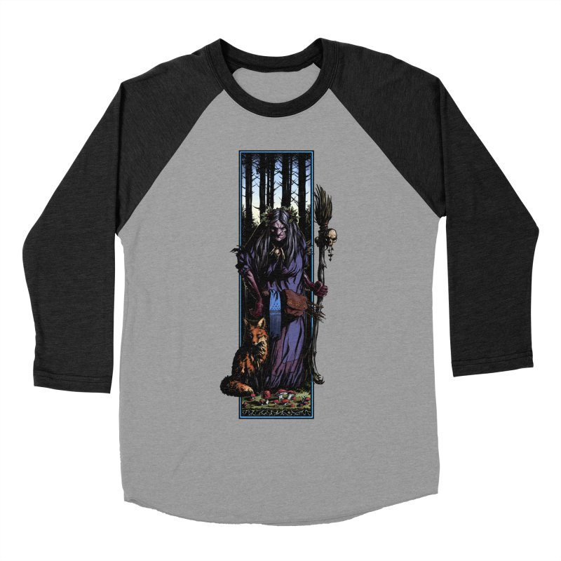 The Watcher Women's Baseball Triblend Longsleeve T-Shirt by Ambrose H.H.'s Artist Shop