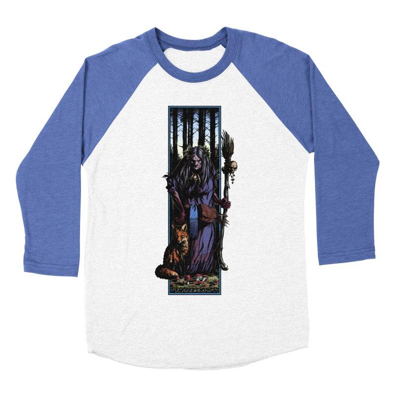 The Watcher Men's Baseball Triblend Longsleeve T-Shirt by Ambrose H.H.'s Artist Shop