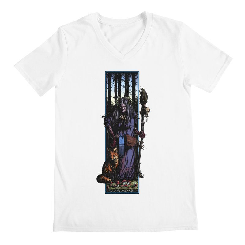 The Watcher Men's V-Neck by Ambrose H.H.'s Artist Shop
