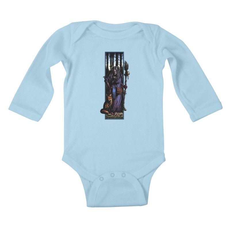 The Watcher Kids Baby Longsleeve Bodysuit by Ambrose H.H.'s Artist Shop