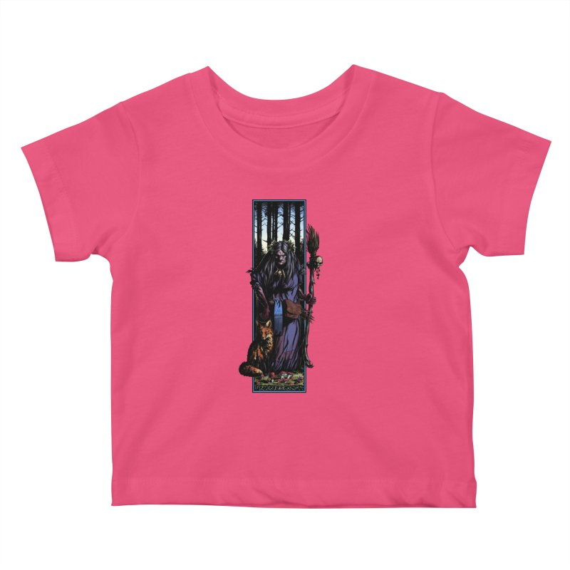 The Watcher Kids Baby T-Shirt by Ambrose H.H.'s Artist Shop