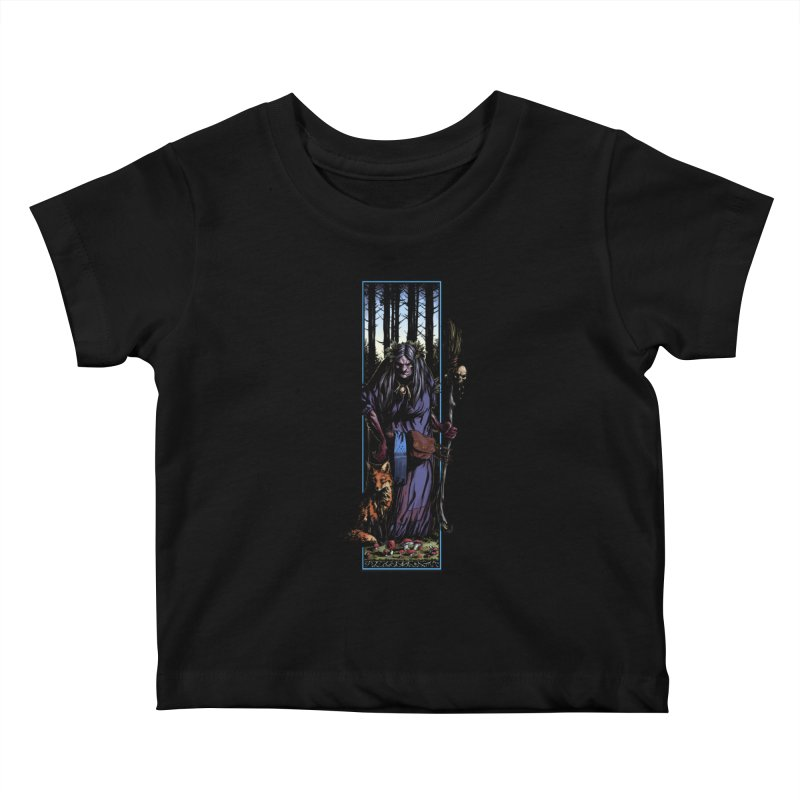 The Watcher Kids Baby T-Shirt by Ambrose H.H.'s Artist Shop
