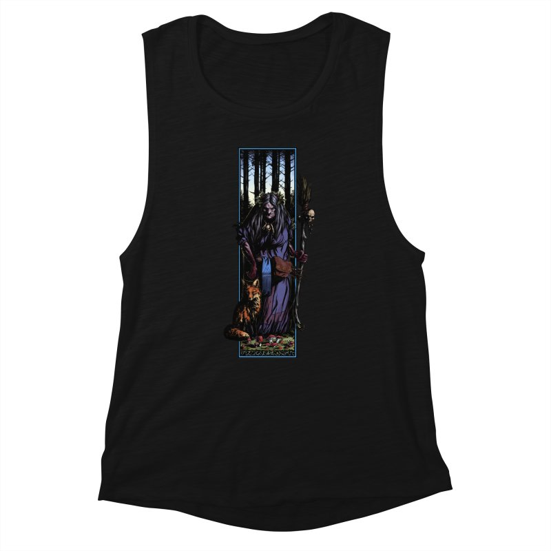 The Watcher Women's Tank by Ambrose H.H.'s Artist Shop